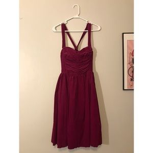 HD in Paris Anthropologie corduroy dress